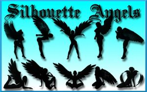 Silhouette Angels by Geosammy