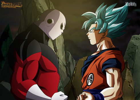 Goku vs Jiren Collab by GhoulFire