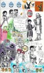 page - things I saw, things I mused on by sweet-suzume