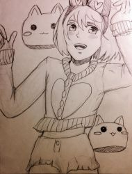 Armin an Cats by Sumiko123