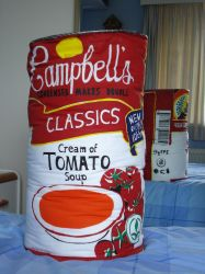 Giant Plush Soup Can by JaffaCakeLover