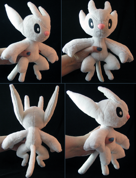 Ori Plush from Ori and the Blind Forest by Zaera
