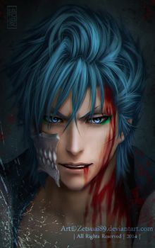 GRIMMJOW _ BLEACH by Zetsuai89