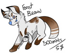 FOREST BROWN ADOPT! OPEN! PRICE LOWERED by Domeikuni