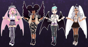 Winged Babes Auction (closed) by Kariosa-Adopts