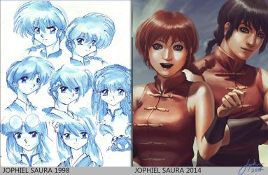 Ranma 1/2 Throwback Thursday by JophielS