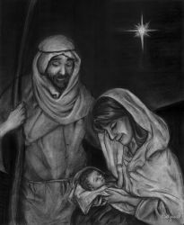 The Holy Family by SteamboatLyssie