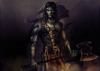Nameless One - Planescape Torment by TronixGFX