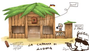 The wooden hut of the shipwrecked German by sara by Sara-Sakurahime