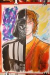 Commission Darth Vader/Anakin by Ireness-Art