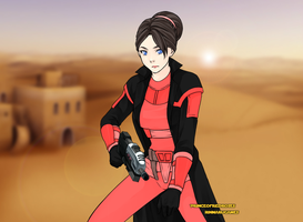 Star Wars Kiera by vampiregirl123456