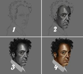 James Nesbitt WIP by tendercoal