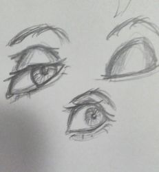 Eye Practice by TooM4ny0cs