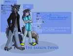 The Barkin Twins by JB-Pawstep