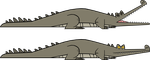 TD Gharial / TD animal commissions by codylake
