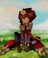 Christmas Gift - Taliyah (League of Legends) by Gimnie-chan