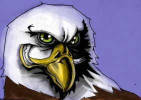 Eagles Stylised by FATRATKING