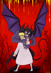 Devilman Crybaby by reaperfox