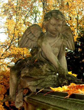 Memorial monuments - Little Angels IV by Silvannia