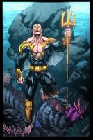 Namor by Kevin Sharpe by NicChapuis