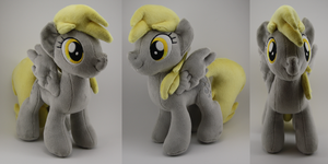 Derpy Plush by LyrasPlush