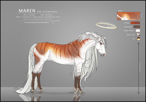 Maren's Reference sheet by Yewrezz