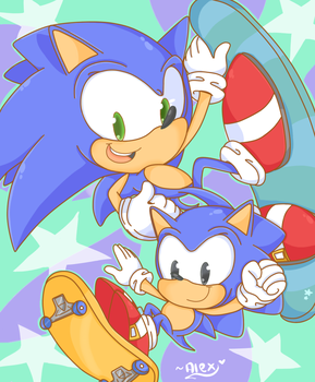 This is how you SONIC by chibiirose