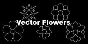 Vector Flower Brushes by Insanity-Prevails