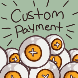 [Pay With Points Here] CUSTOM Payment by heartof-theforest