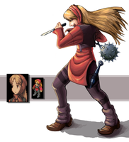 FF Tactics Ninja Female by ZabakeN