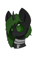 Green Headshot by X4v13R009