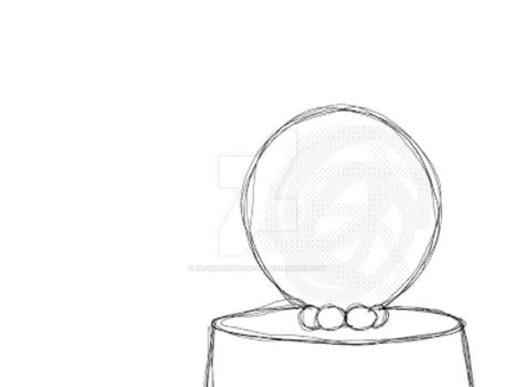 Aurorabeam Chew Ball Sketch Animation by IsellaHowler
