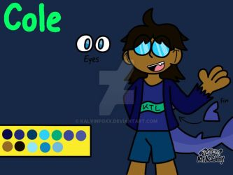 Cole (NEW OC) by RioluFan1987