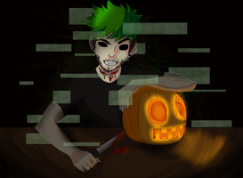 I'm Always there, Always Watching..[Antisepticeye] by MinonDraws