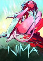Cover Nima (gouache/color pencils) by EnriqueFernandez