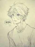 Yoosung (2nd Fanart) by ShiriruChan