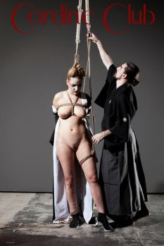 shibari with Nikla Black 8 by CordineClub