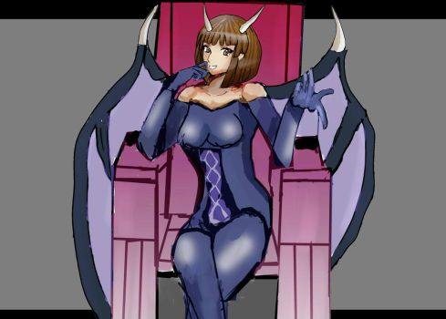 AT Request : Oriana Succubus form by neiger