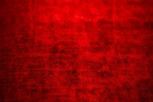 red chenille fabric texture by beckas