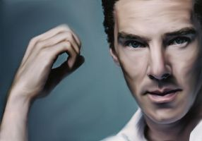 Benedict Cumberbatch by CommanderKhashoggi