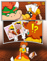 Daisy Slut Comic: Pg7 Color CENSORED by TheGeckoNinja