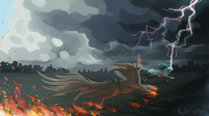 Storm Chasers by Karijinni