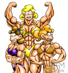 Foxtrot Muscle Ladies Finalised by AlphaCentaurian