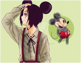 Mickey Mouse fan Art by dokinana