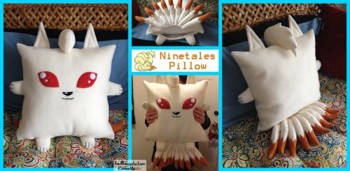 Ninetales Pillow Cover by Kai45