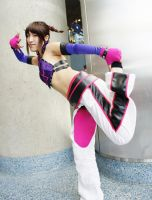Juri Han Cosplay by Morigalaxy