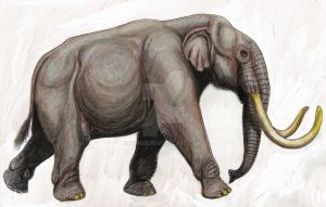 Phanagoroloxodon mammontoides by DiBgd