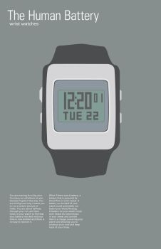 Human Battery Series Watches by MrBadger