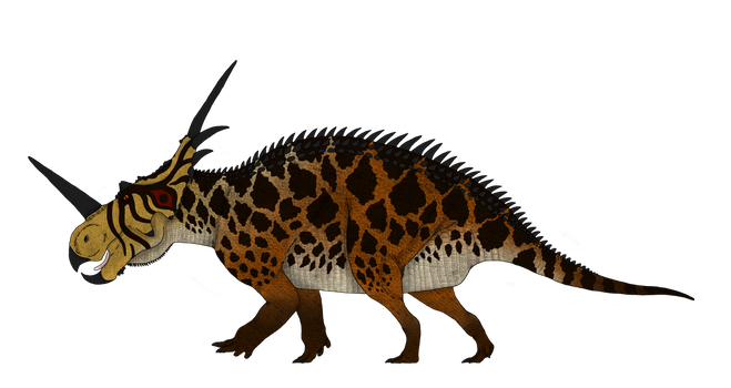 Dinosaur concepts: Spiked Reptile from Alberta by Austroraptor