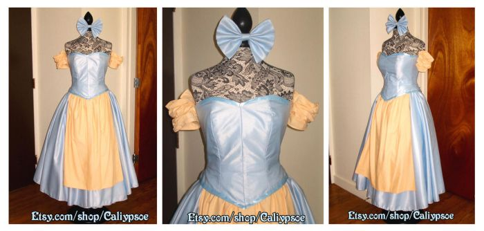 Beauty and the Beast Silly Girl Dress by Caliypsoe